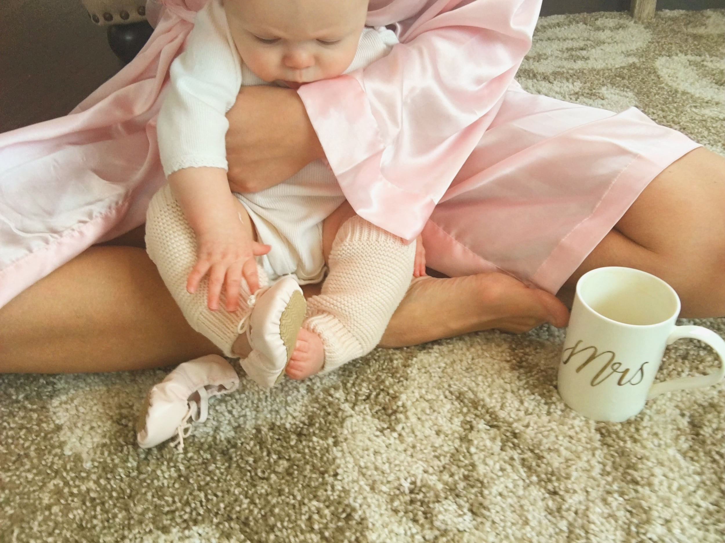 Baby Ballet Shoe Slippers - The Winemakers Wife. Wife. Mother. Lifestyle Blogger. Meagan Kludt.