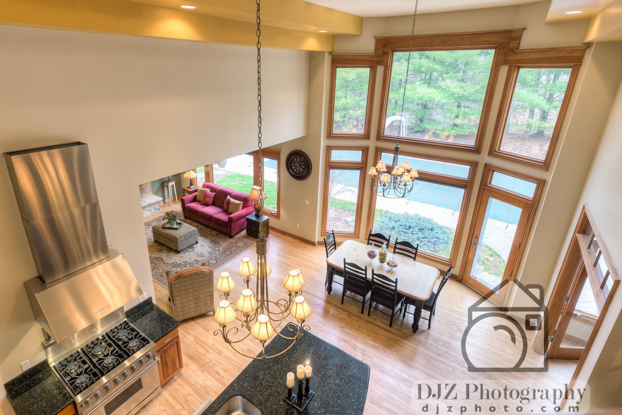 Balcony Overlook - Real Estate Photography