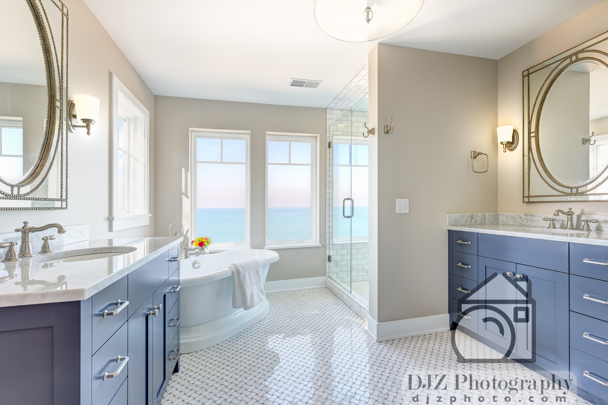 Master Bathroom by the Sea 1 - Real Estate Photography