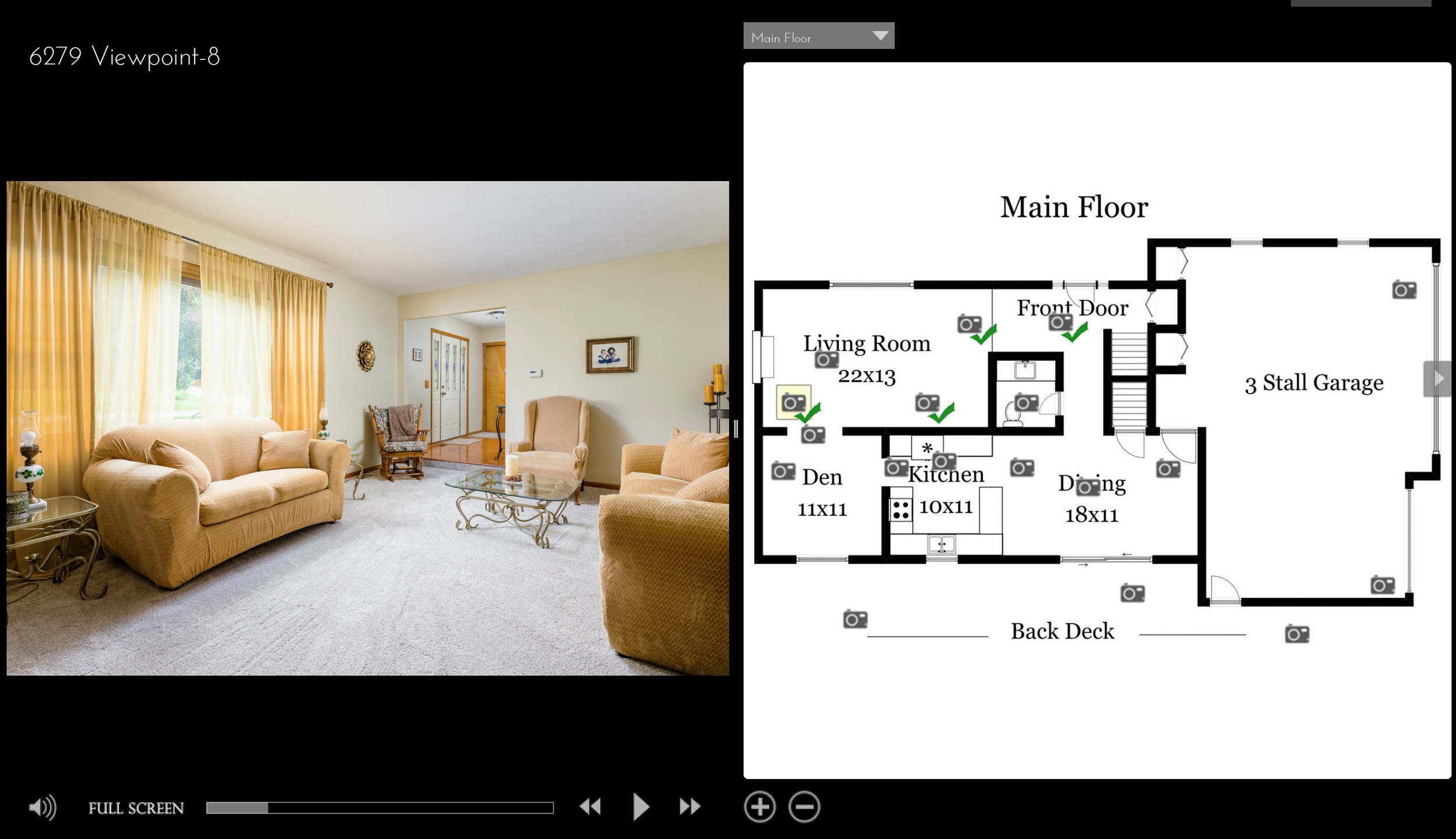 Click to view the interactive Floorplan for 6279 Viewpoint Dr NE.