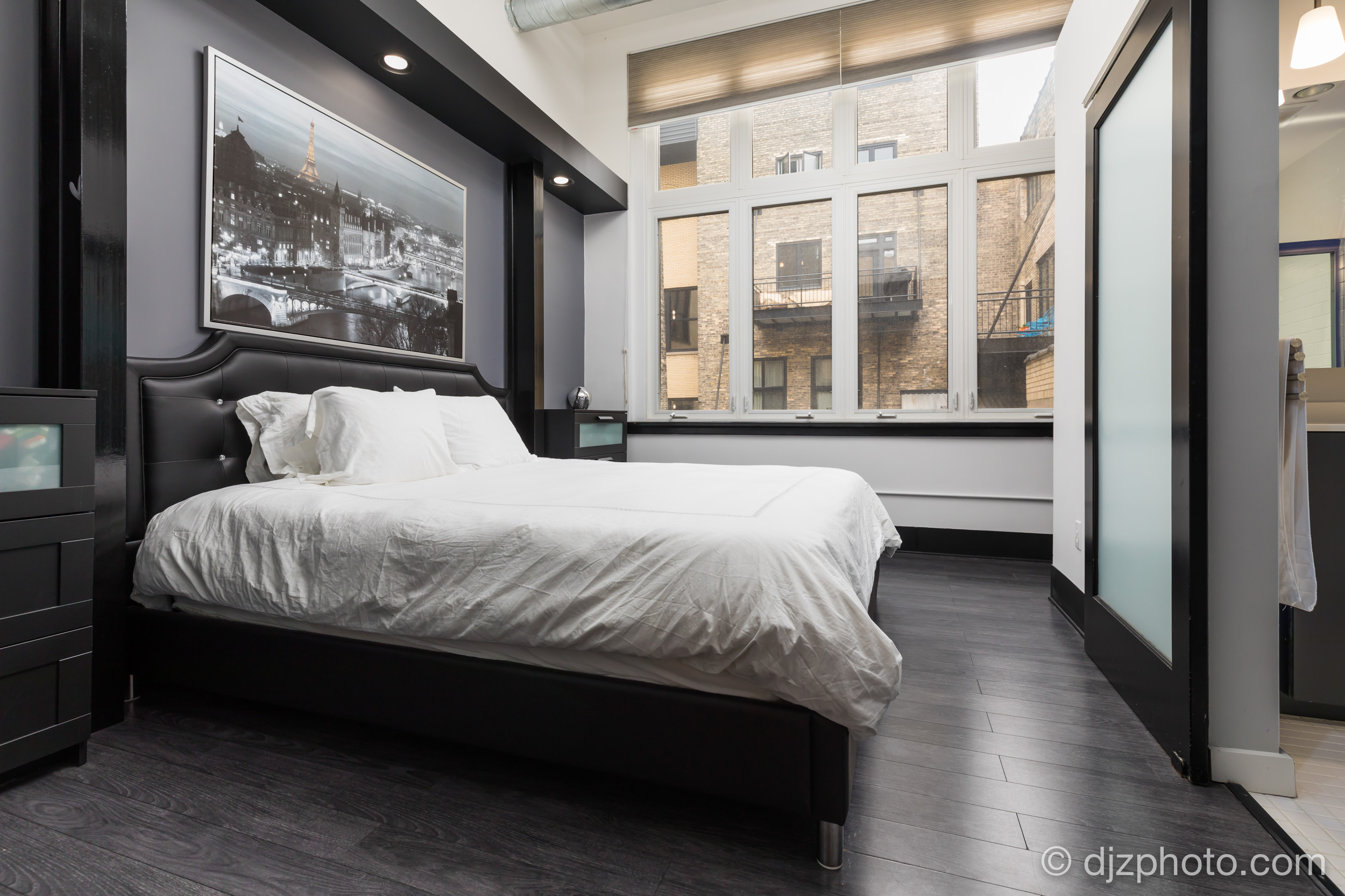 Downtown Condo Bedroom