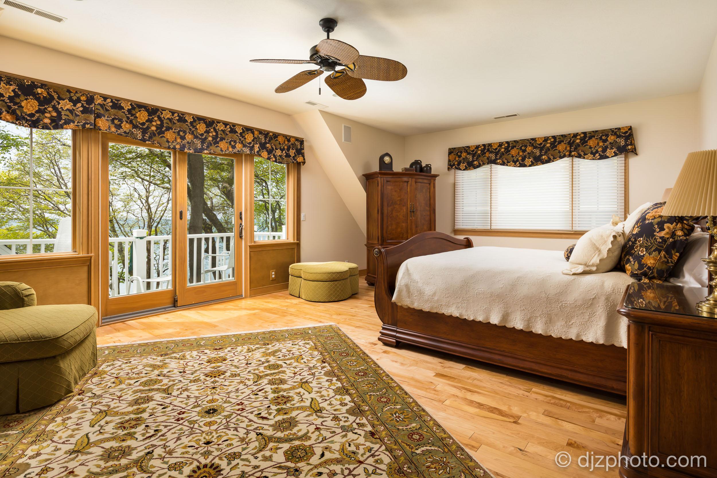 Master Bedroom on Lake Michigan