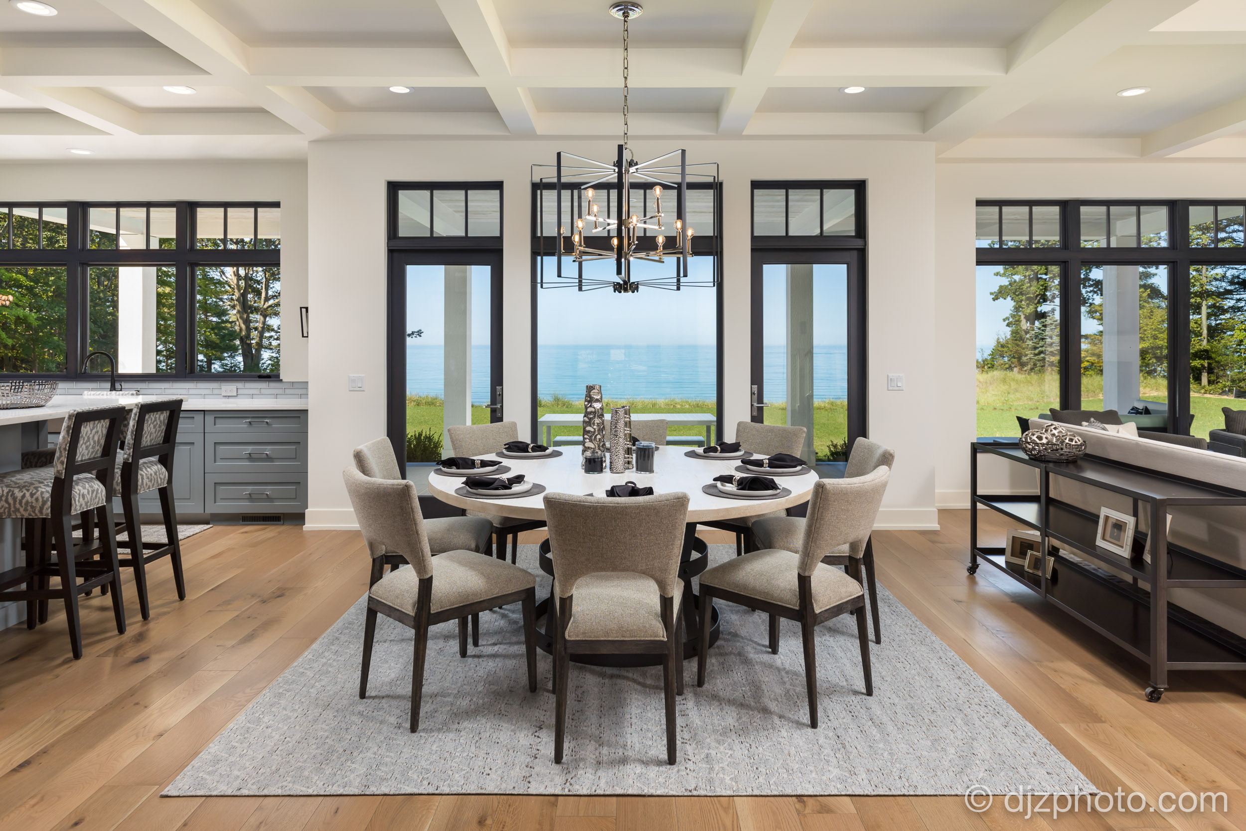 Dining Room by Lake Michigan