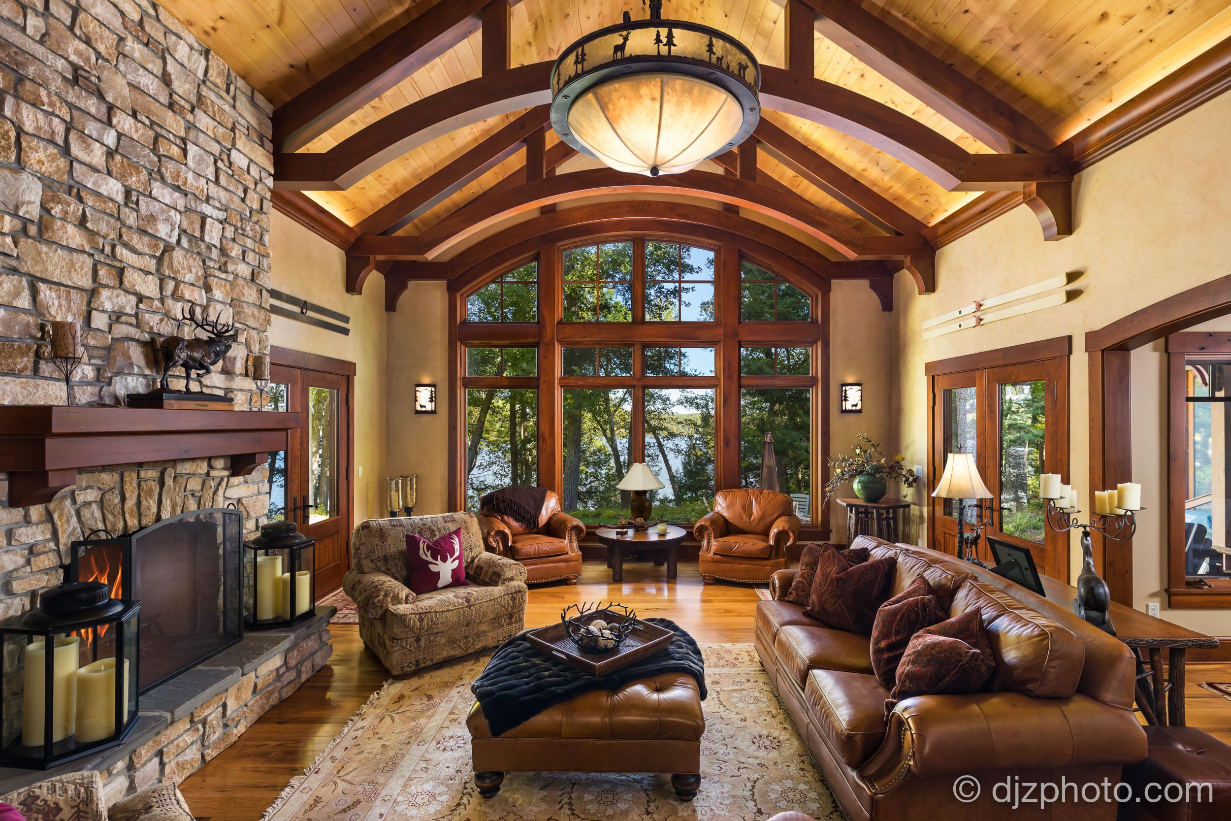 Living Room by Lake Allegan