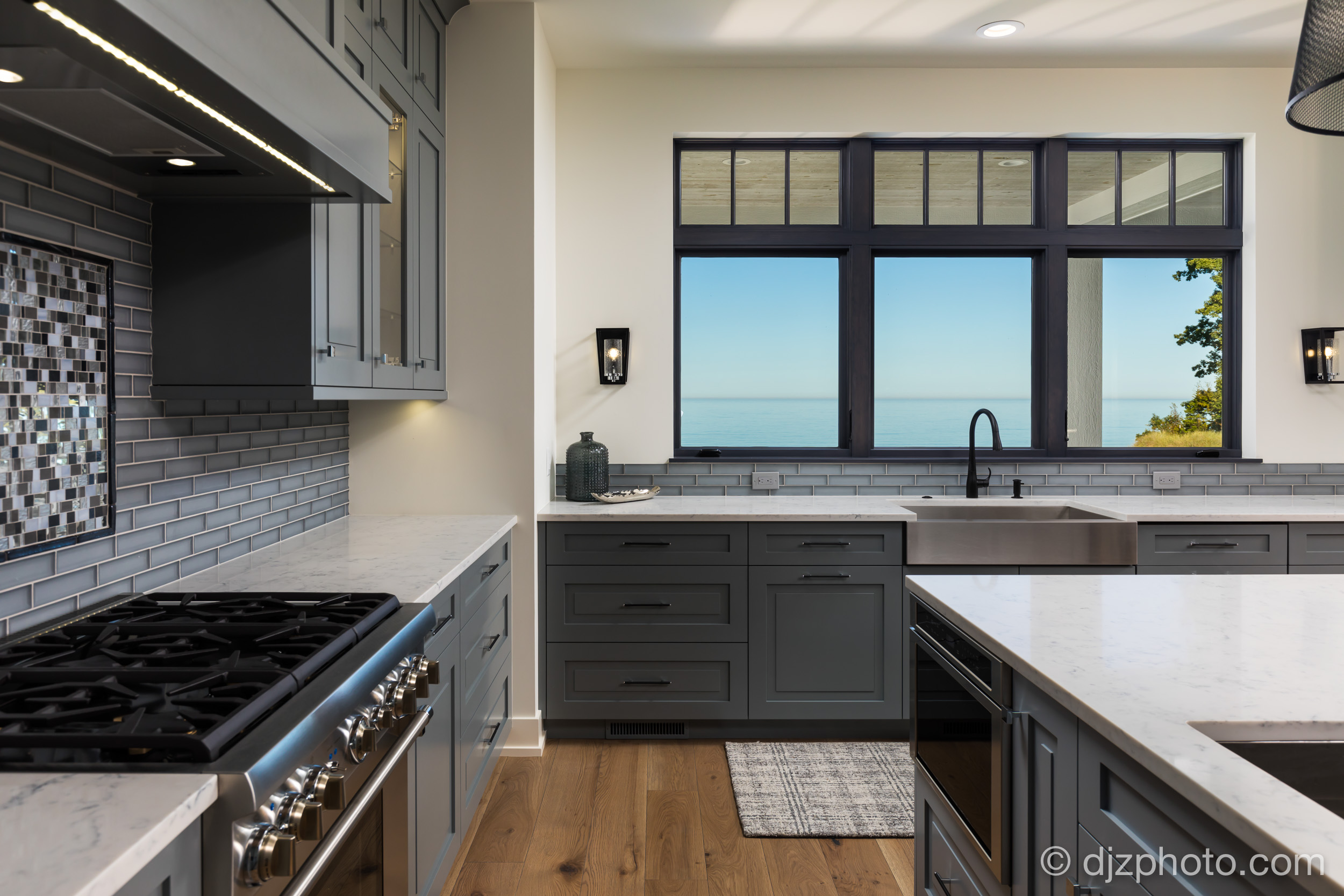 Kitchen by Lake Michigan