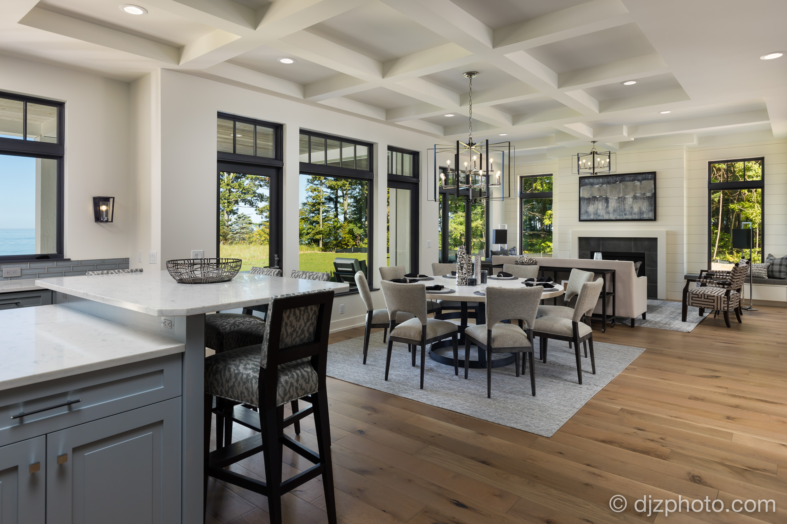 Living Space by Lake Michigan
