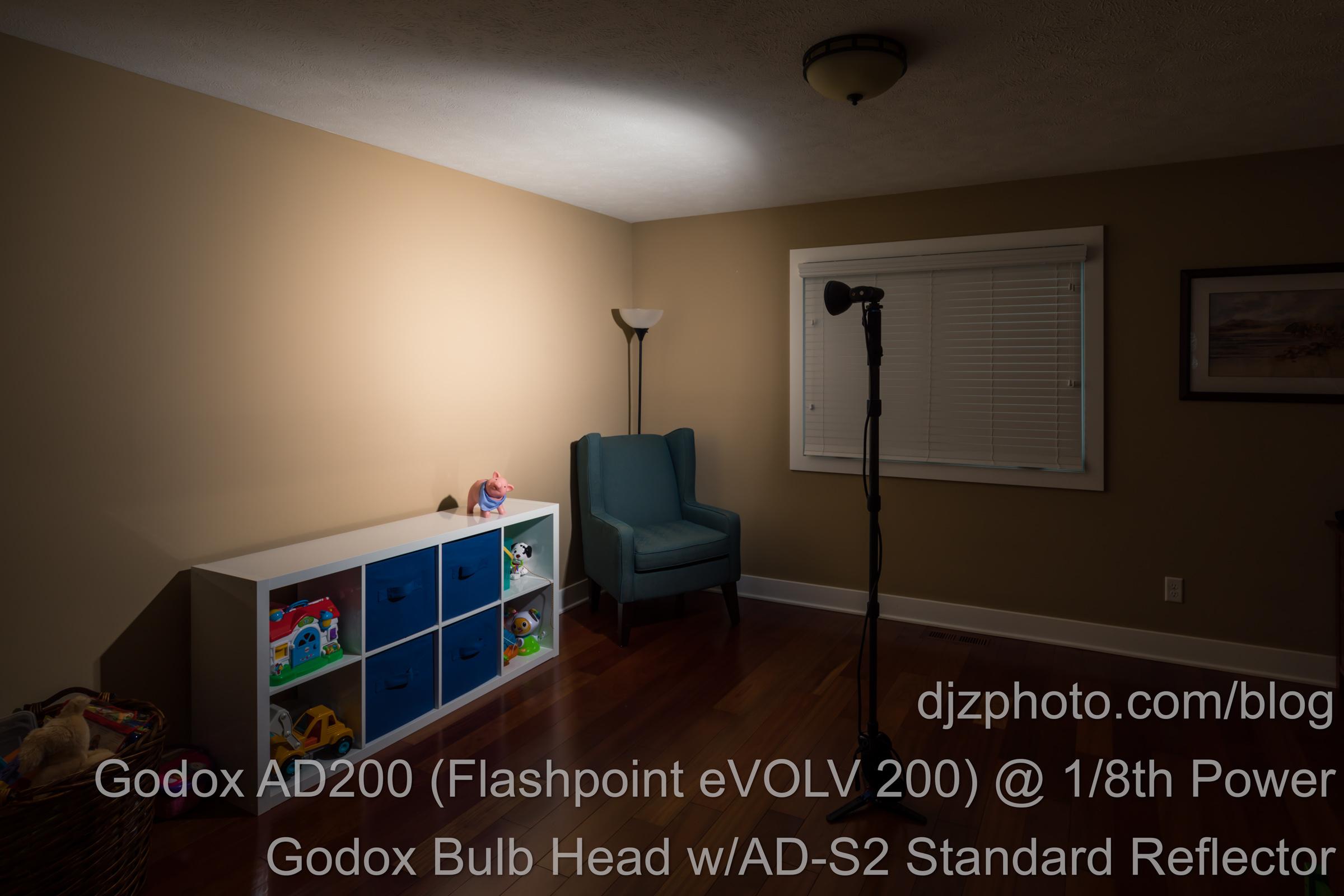 Godox AD200 Bulb Head Standard Reflector