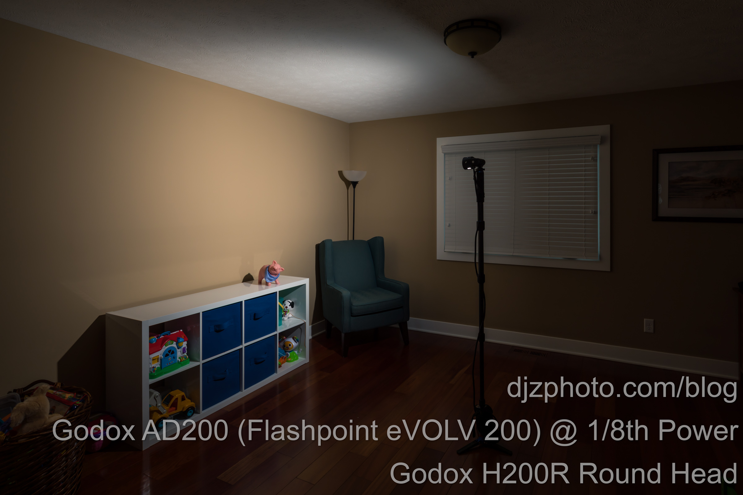 Godox AD200 with H200R Round Head