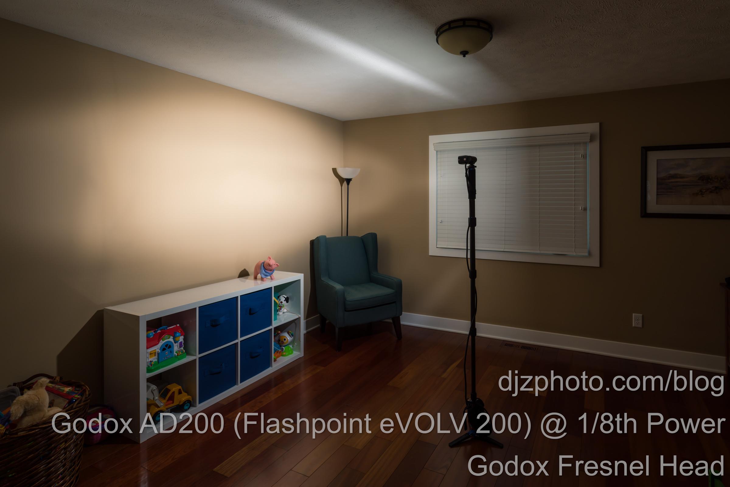 Godox AD200 Fresnel Head