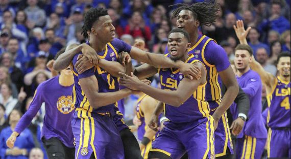 LSU began the week with a stunning win at Kentucky and wrapped it up with a win in Athens.