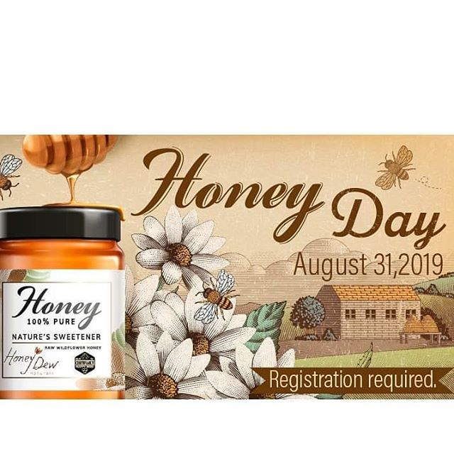 Don't miss this up-close opportunity to see how we harvest and extract our honey! Register now www.honeydewnaturals.com.  #raw #unfiltered #honey #honeybees #natural #wheredoyouchill #savethebees #outdoors #organic #familyfun #getyours