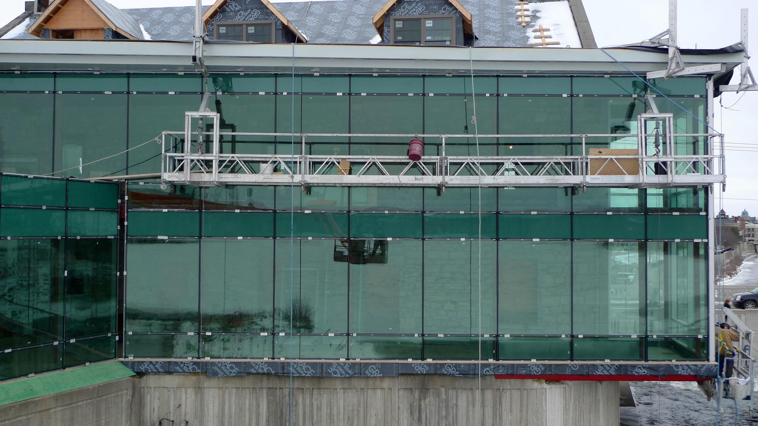Exterior Curtainwall / Railings / Staircase