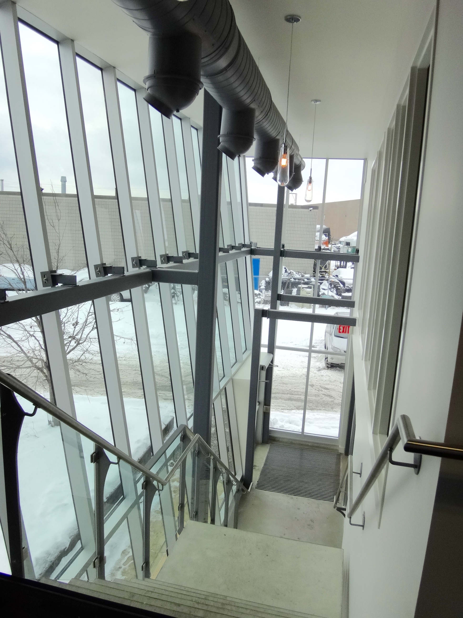 Curtain Wall / Railing