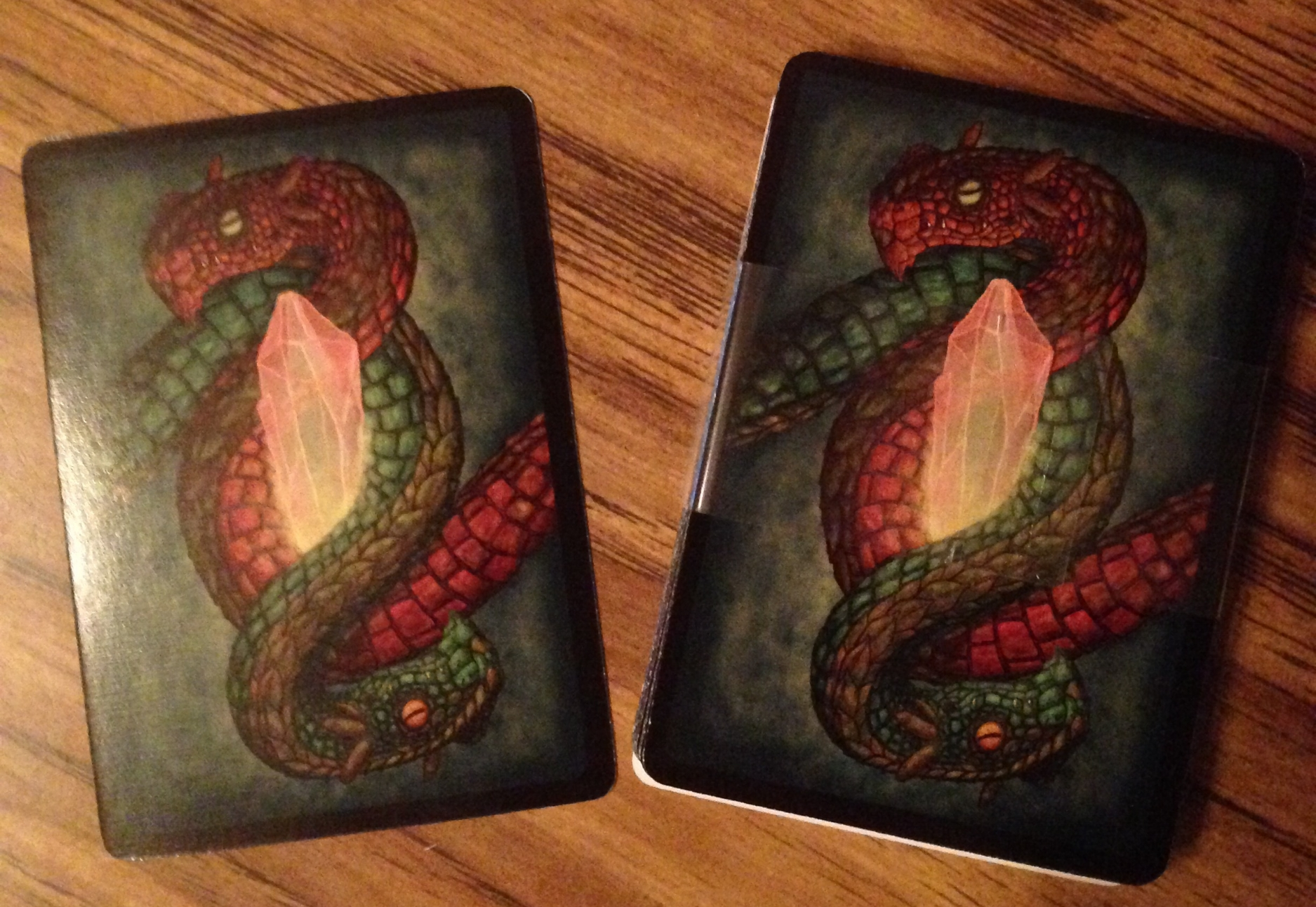 We even fixed the card backs!