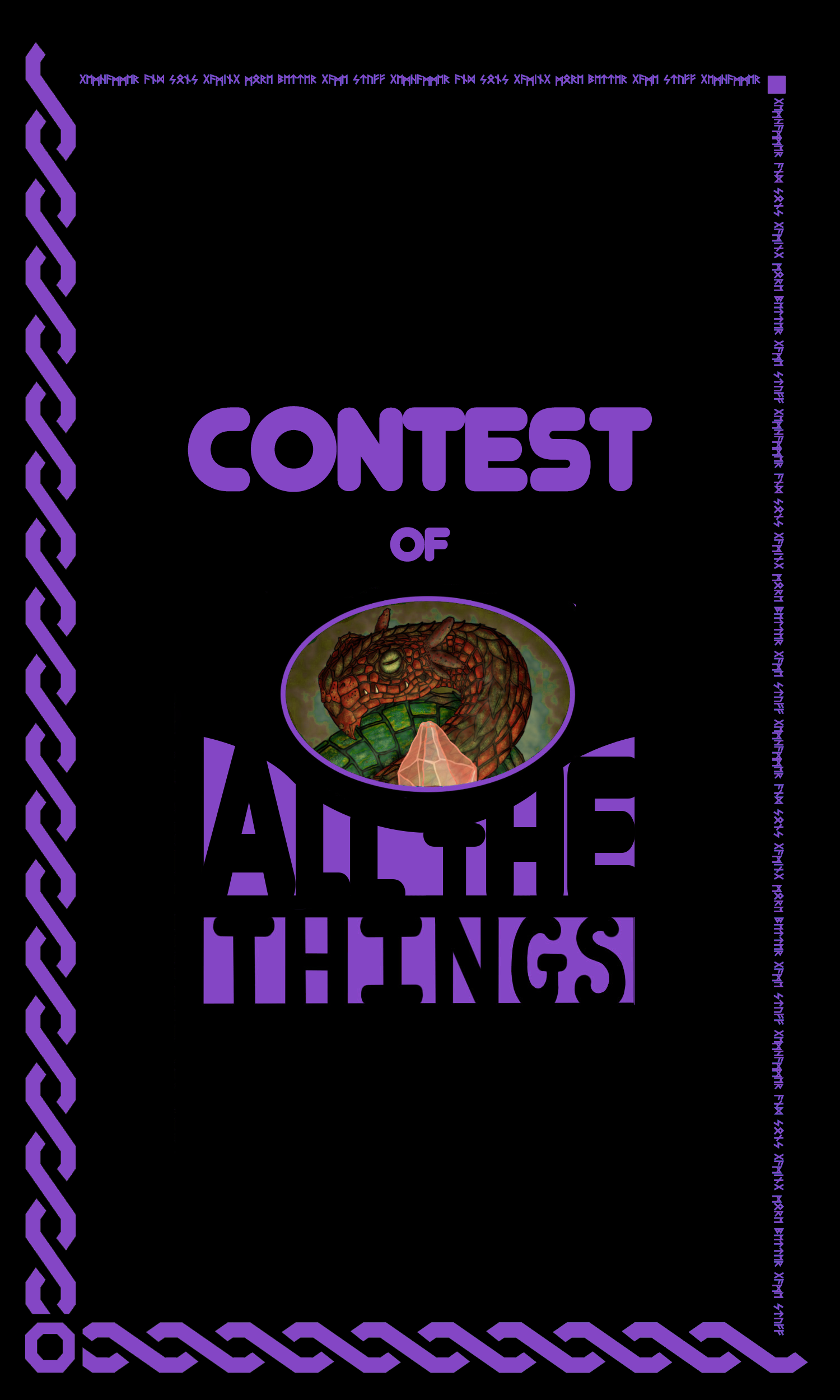 Your Effects on Our Cards! - As we outlined in last week's update, we're holding a contest in conjunction with our forthcoming Deck of All the Things.Back when we kickstarted the original Deck of Many Things, we offered a chance for people to have their very own card made and put into the deck. While that first kickstarter never went through, we wanted to bring back the concept for this new iteration of the deck.From today February 10th, 2018 until April 1st, 2018, community members will be able to submit their spell effect for entry into the contest.5 lucky winners will have their effect made into a card in the deck, receive a free copy of the Deck of All the Things, AND receive a Gemhammer Dice T-shirt. Winners will be announced Live from the floor of PAX East on April 6th 2018. To enter, click the link below and fill out the entry form. One entry per person.No Purchase Necessary.Purchasing or preordering will not increase your chance of winning.