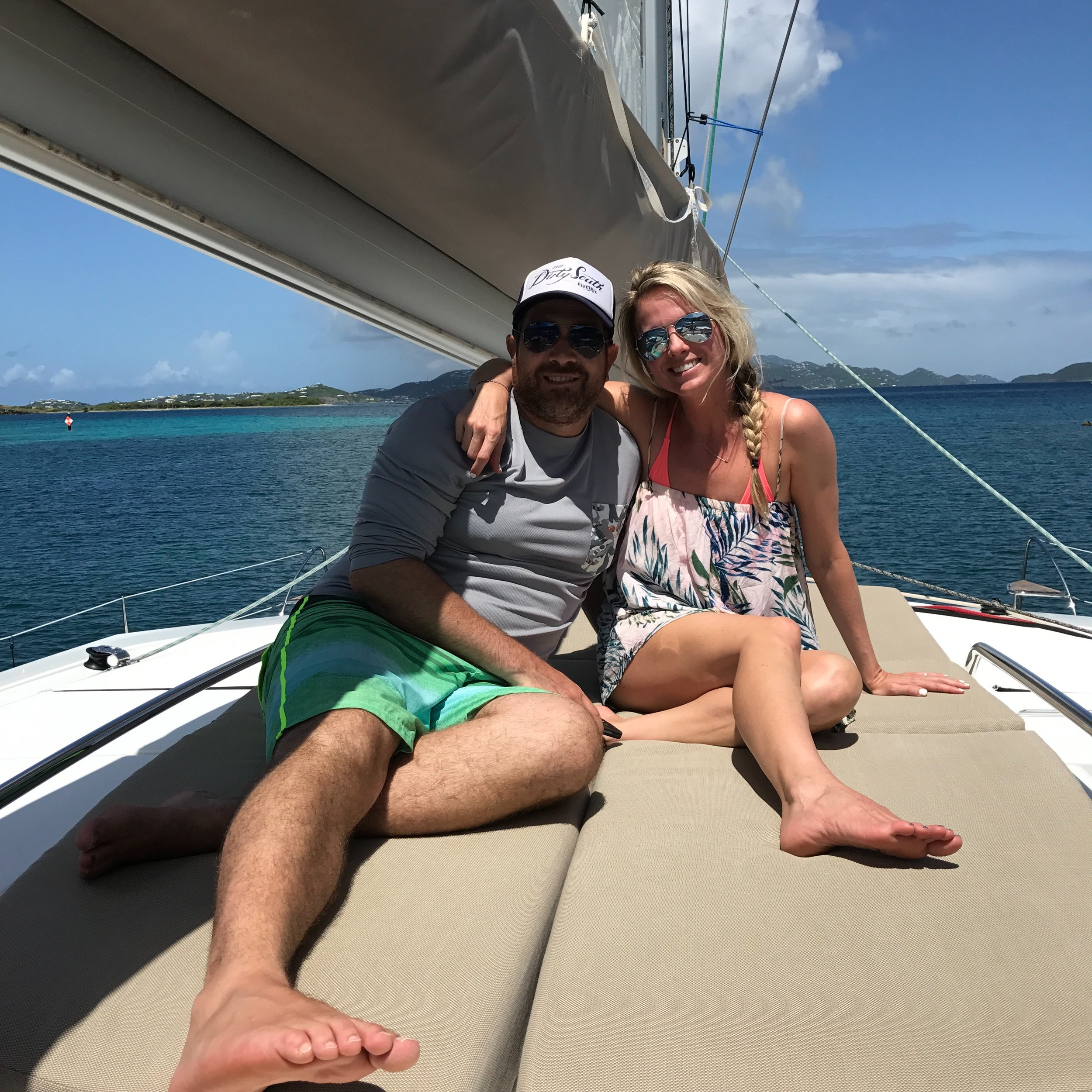 Kristen & Jeff St. John, USVI, August 2017