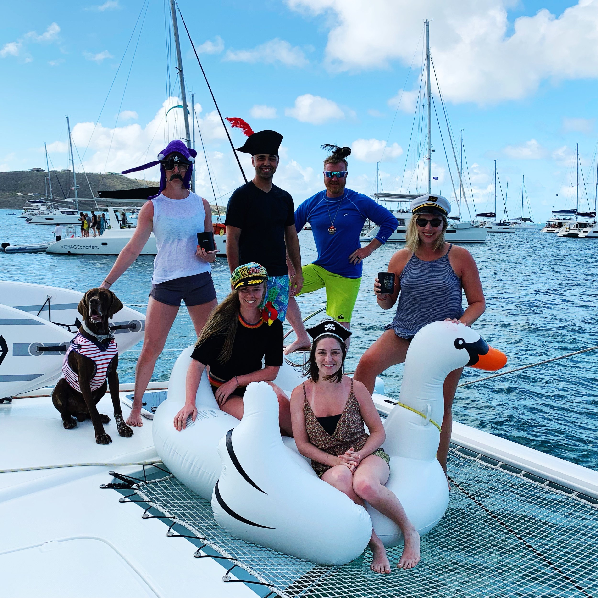"Moritz/Hefton/Degarmo/Moss Charter MICHAEL BEANS' ""HAPPY ARRR,"" LEVERICK BAY APRIL 2019"