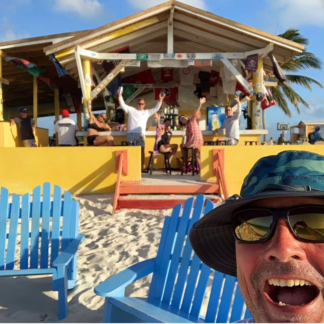 Huston Charter - a 50th birthday celebration COW WRECK BEACH, ANEGADA, MAY 2019