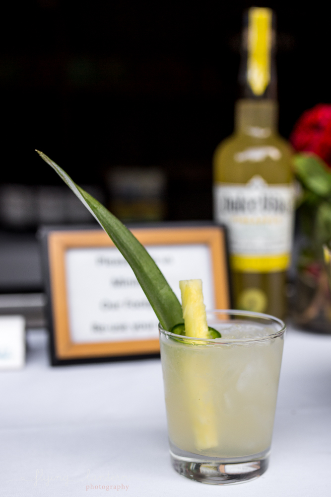 Specialty cocktail at Eden East Wander/Gather event in Austin, TX. Photo by Erin Reas of Flying Lantern Photography