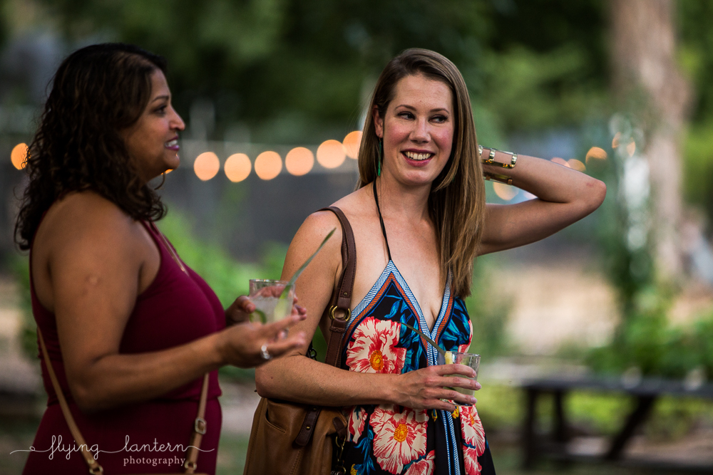 Female guests attending Wander/Gather event at Eden East. Photo by Erin Reas of Flying Lantern Photography