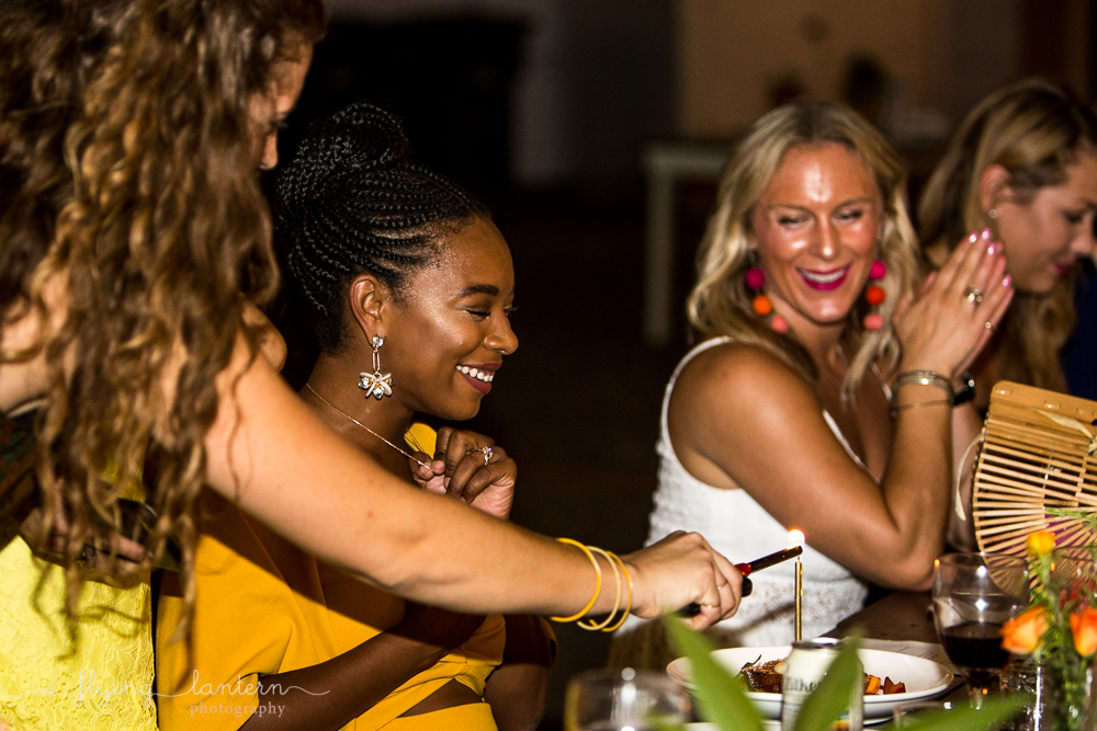 Birthday celebration during Wander/Gather event at Eden East. Photo by Erin Reas of Flying Lantern Photography
