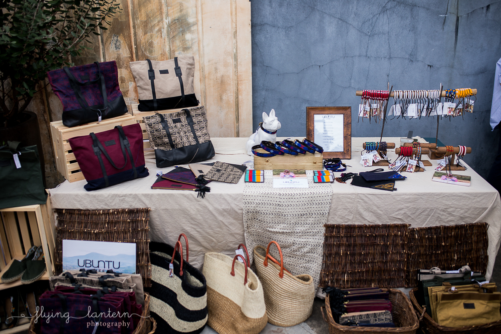 Ubuntu Life product sales for Tribe Gala. Photography by Erin Reas of Flying Lantern Photography