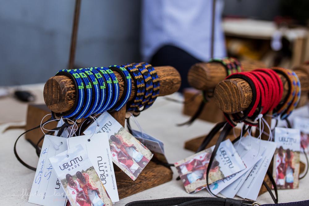 Detail photo of Ubuntu Life bracelets for gala. Photography by Erin Reas of Flying Lantern Photography