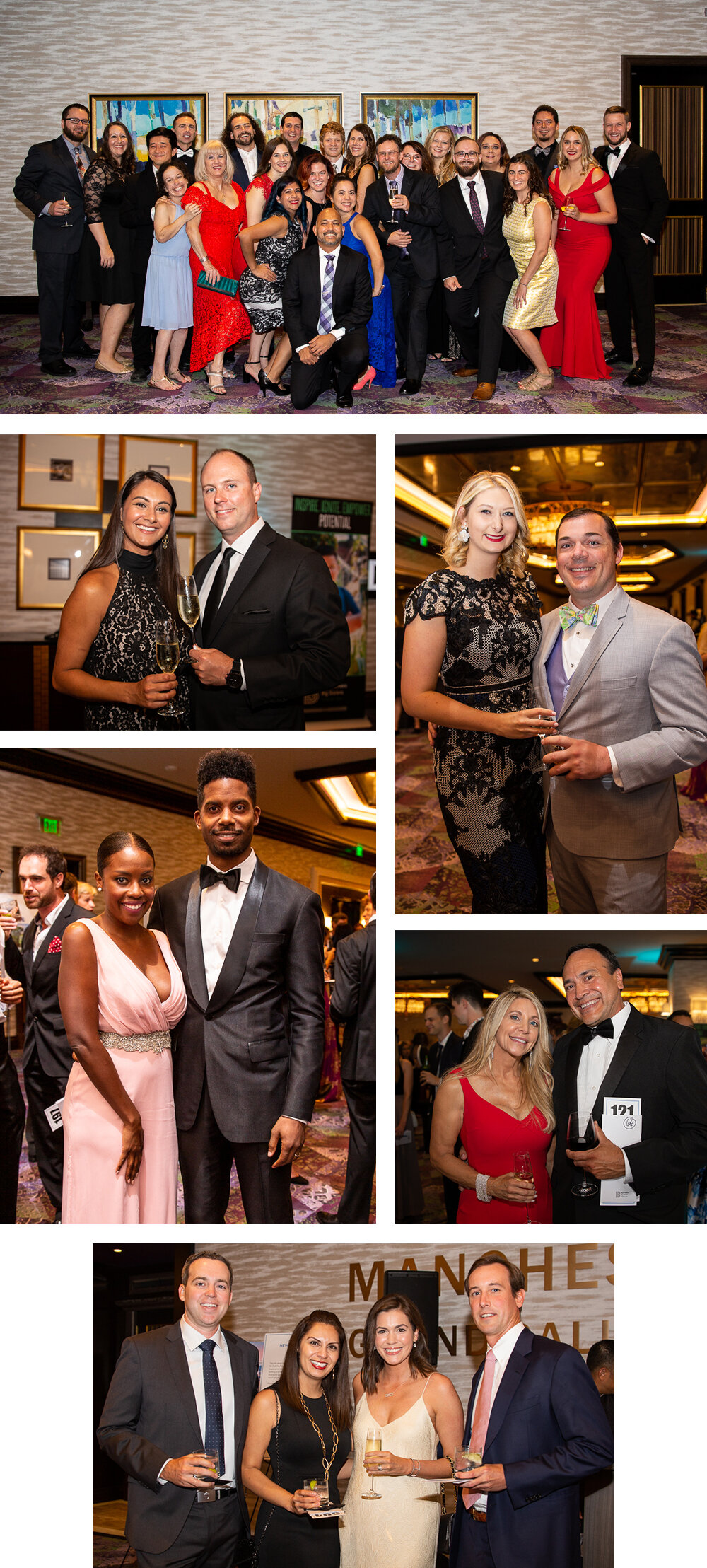 Guests at the Big Brother Big Sister Ice Ball in Austin TX. Photo by Erin Reas event photographer.
