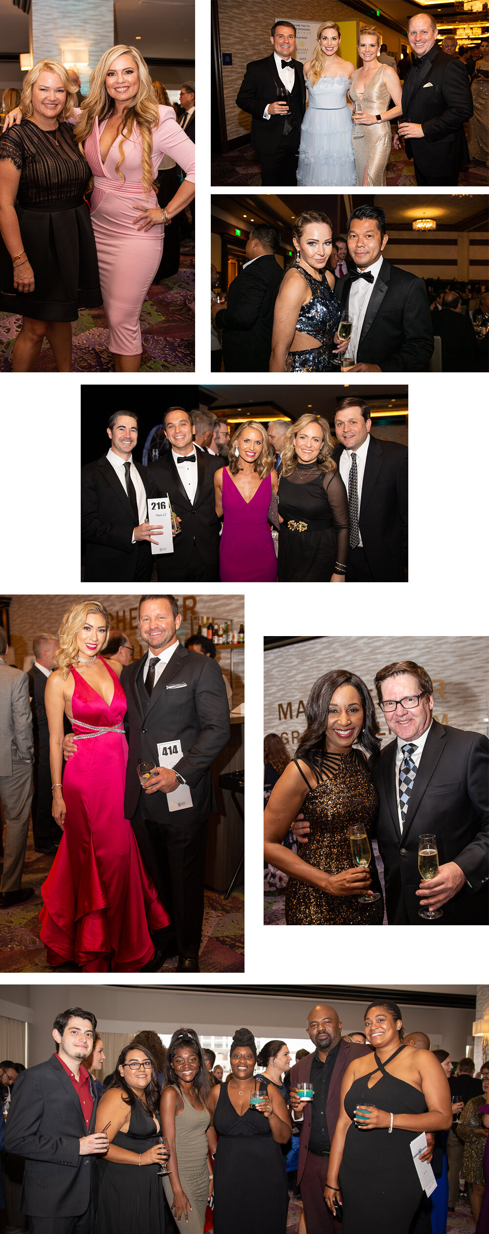 Guests at the Big Brothers Big Sisters annual Ice Ball Gala at the Fairmont Hotel in Austin, Texas. Photos by Erin Reas local event photographer.