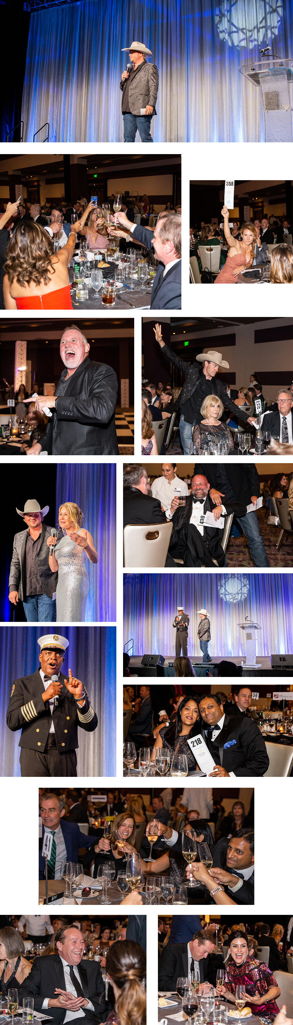 Live auction during the Big Brothers Big Sisters of Central Texas Ice Ball Gala. Photo by Erin Reas local event photographer