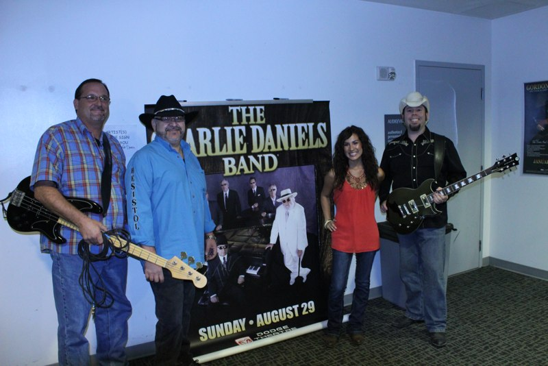 Opening for The Charlie Daniels Band