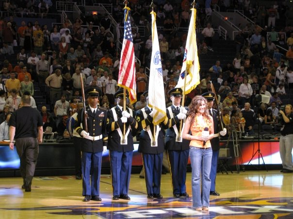National Anthem for The Phoenix Suns