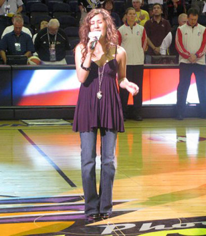 National Anthem for The Phoenix Mercury