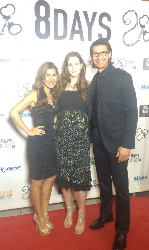8 Days Premier with Director Jaco Booyens and Writer Philipa Booyens