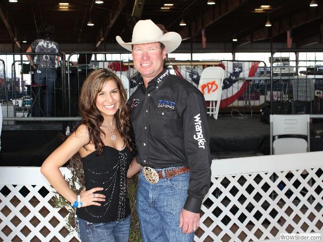 Rodeo Announcer Wayne Brooks