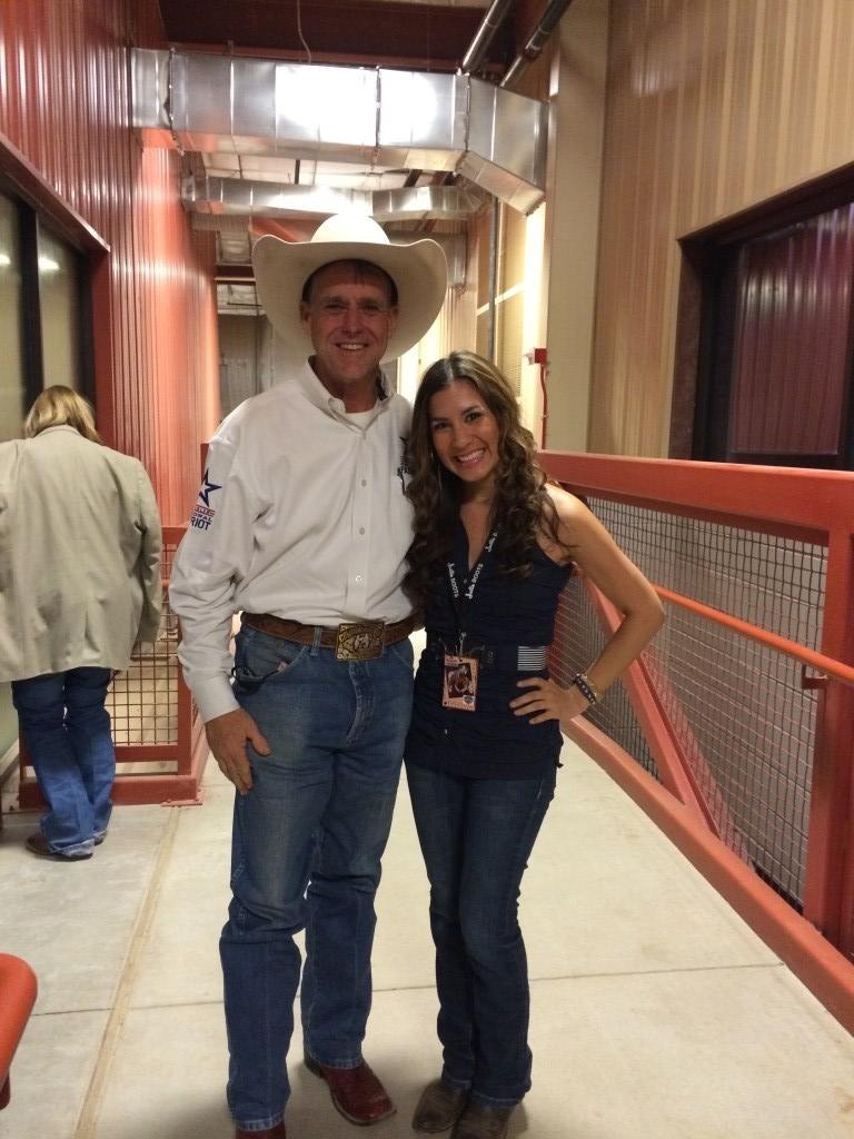 Rodeo Announcer Dan Fowlie
