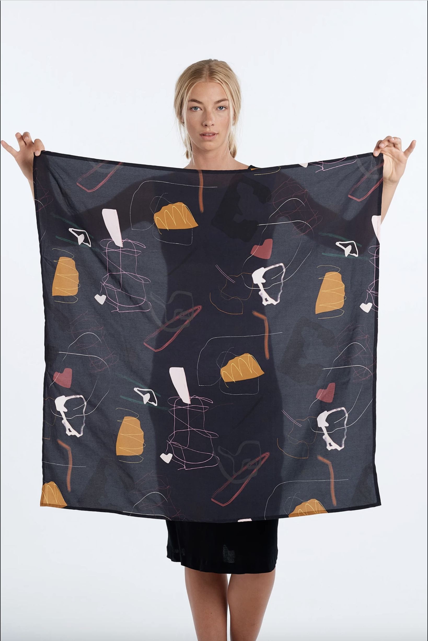 Journal Scarf (Ink) - $119.9