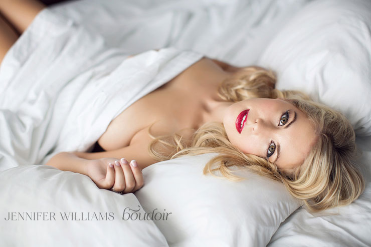 Photo Credit:  Jennifer Williams Boudoir