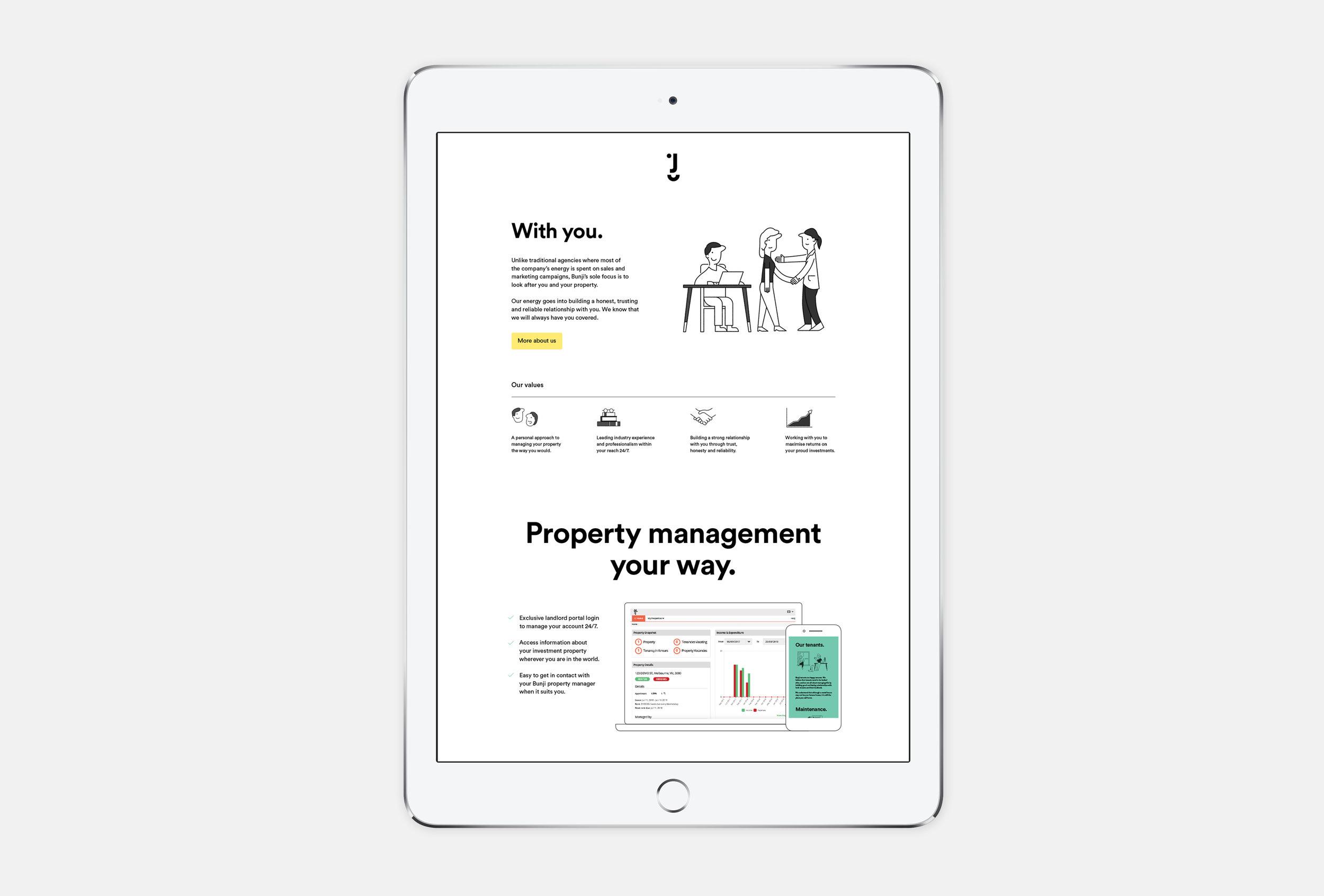 Bunji-Branding-iPad
