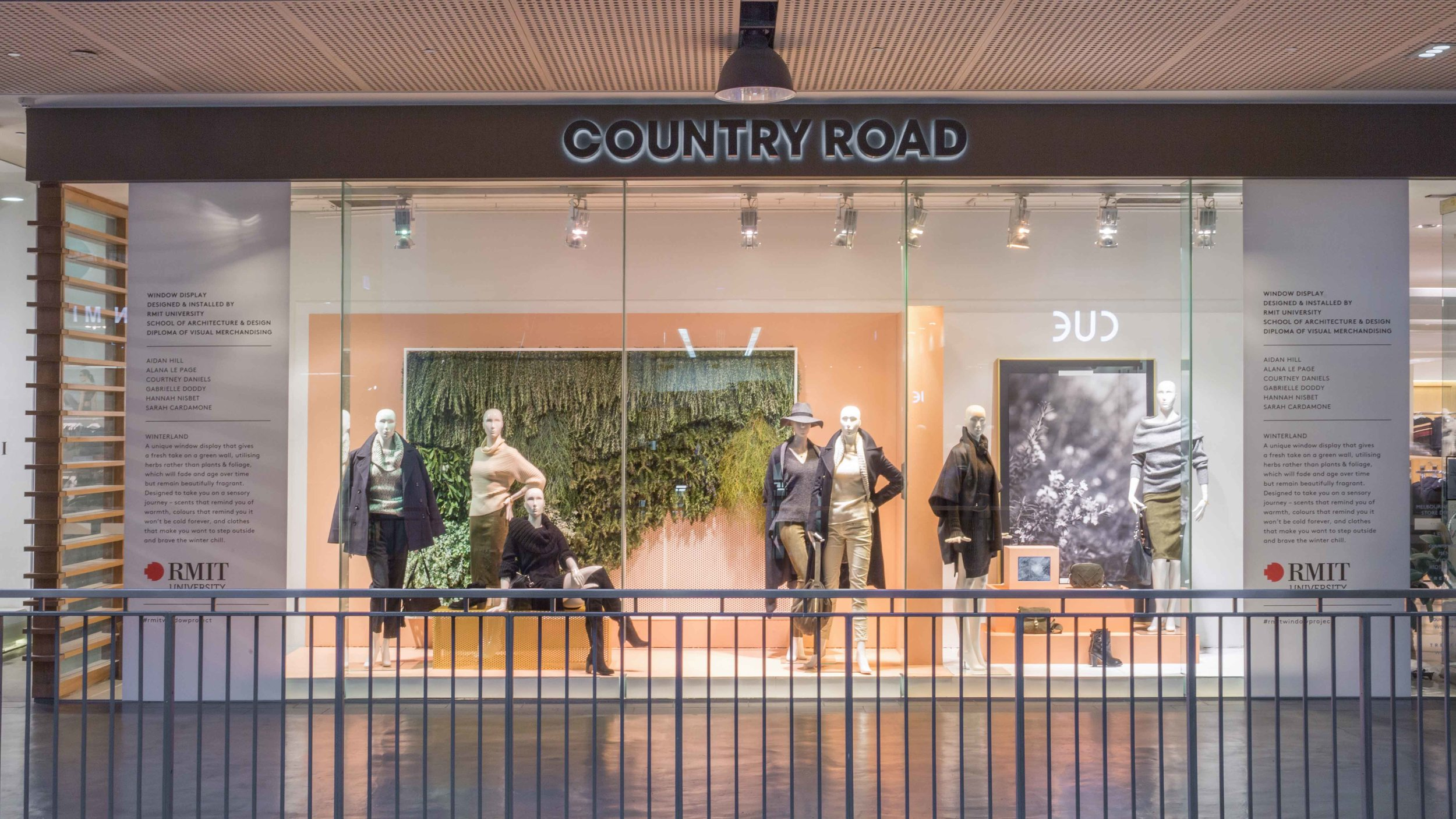Country Road x RMIT Window Project. For more info click  HERE
