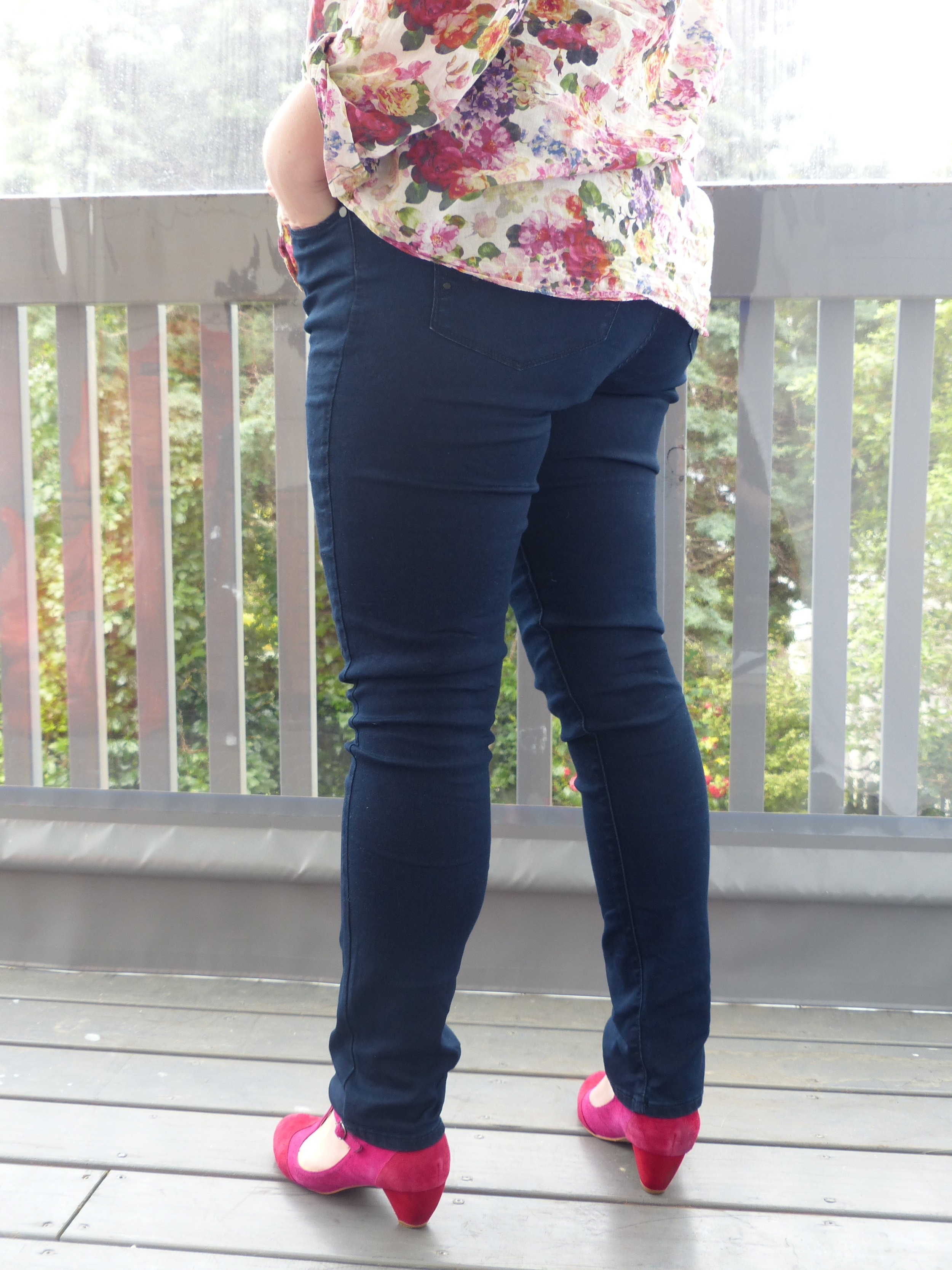 I love these jeans so much I am showing you my bum!