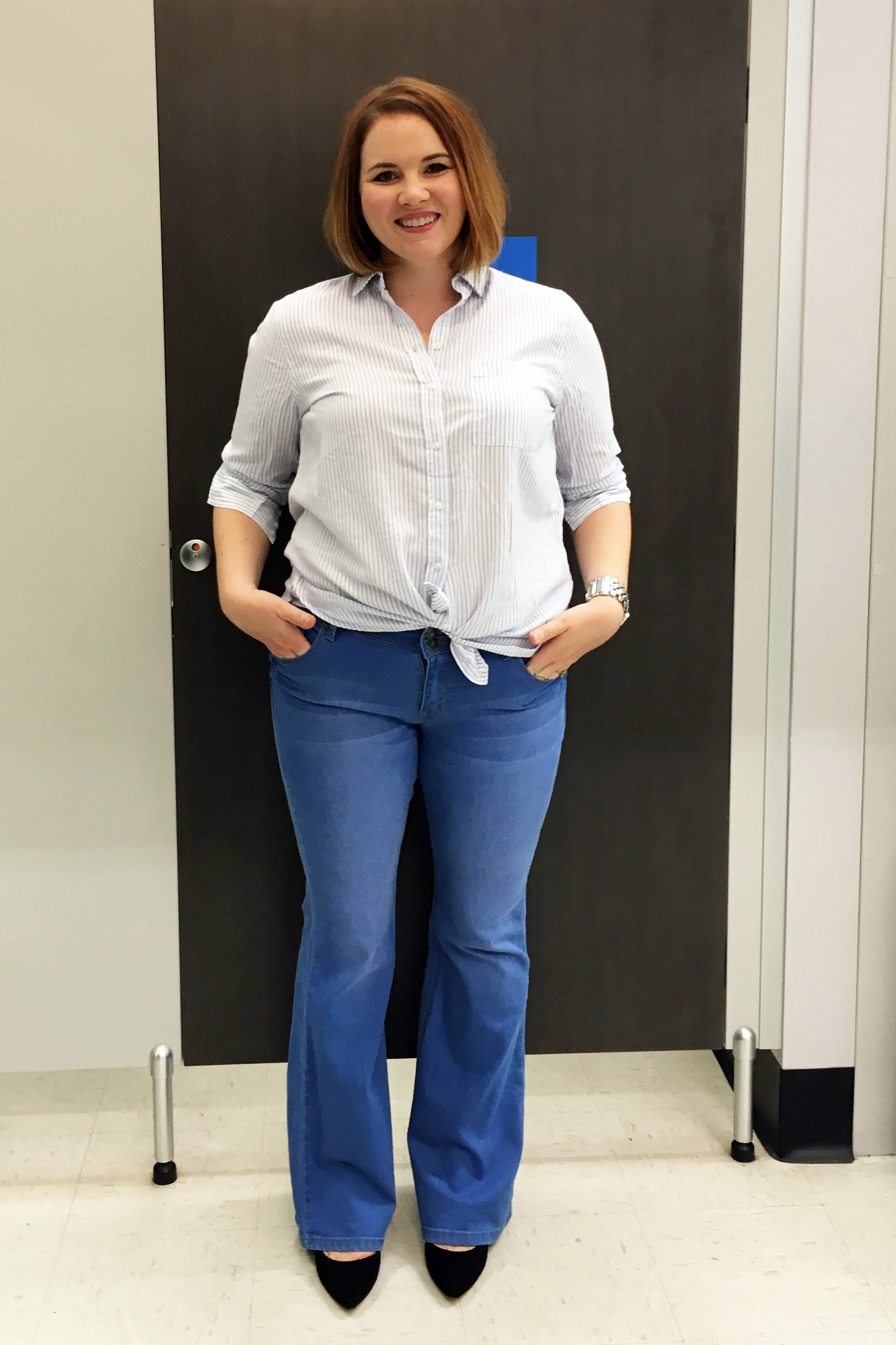 Casual shirt and flares - K-mart
