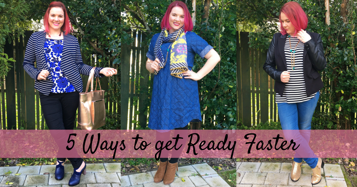 5 ways to get ready faster