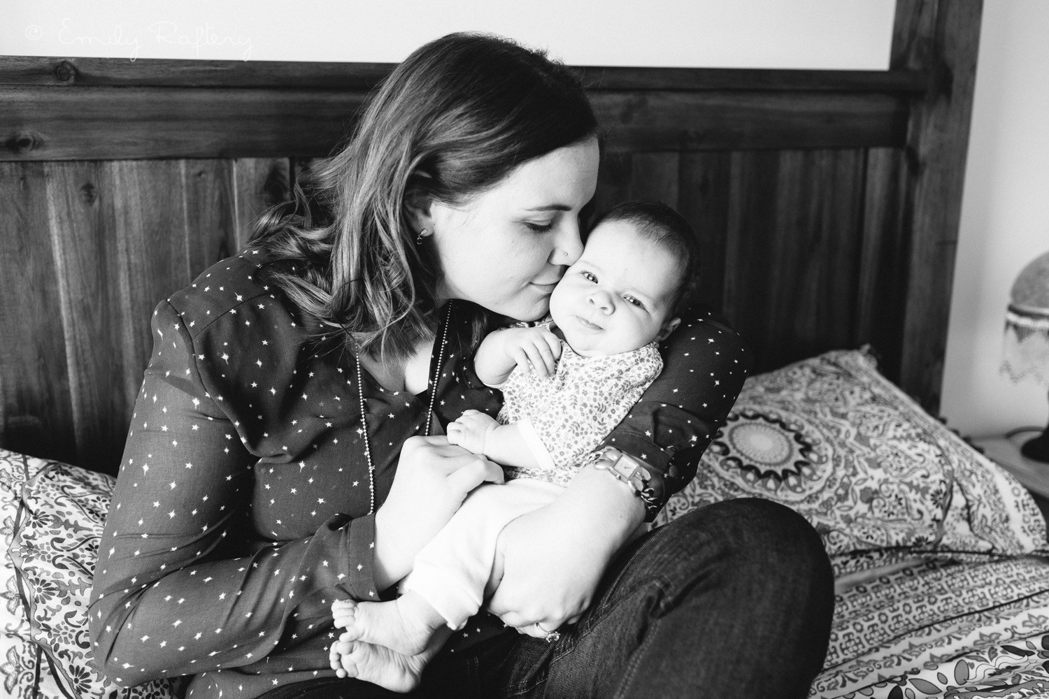 Baby Florence, 9 weeks old. Photo by  Emily Raftery Photography .