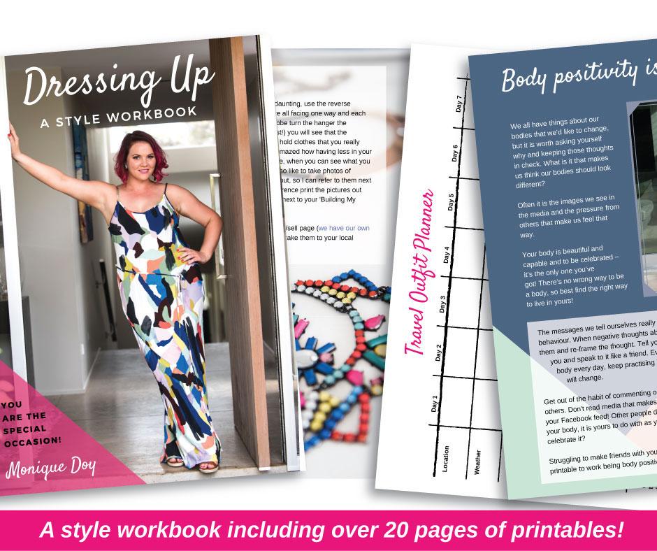 Dressing Up Style Workbook