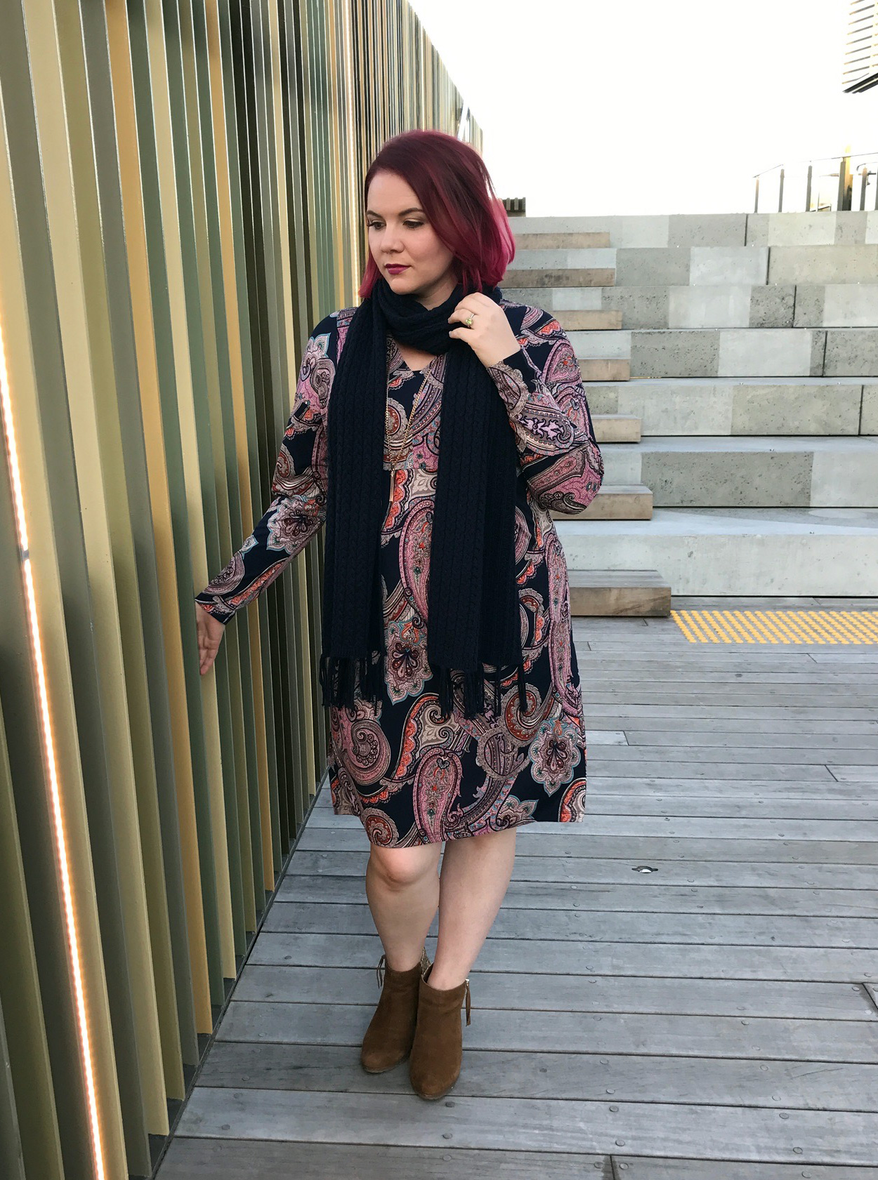 MADLY Sweetly Paisley Dress