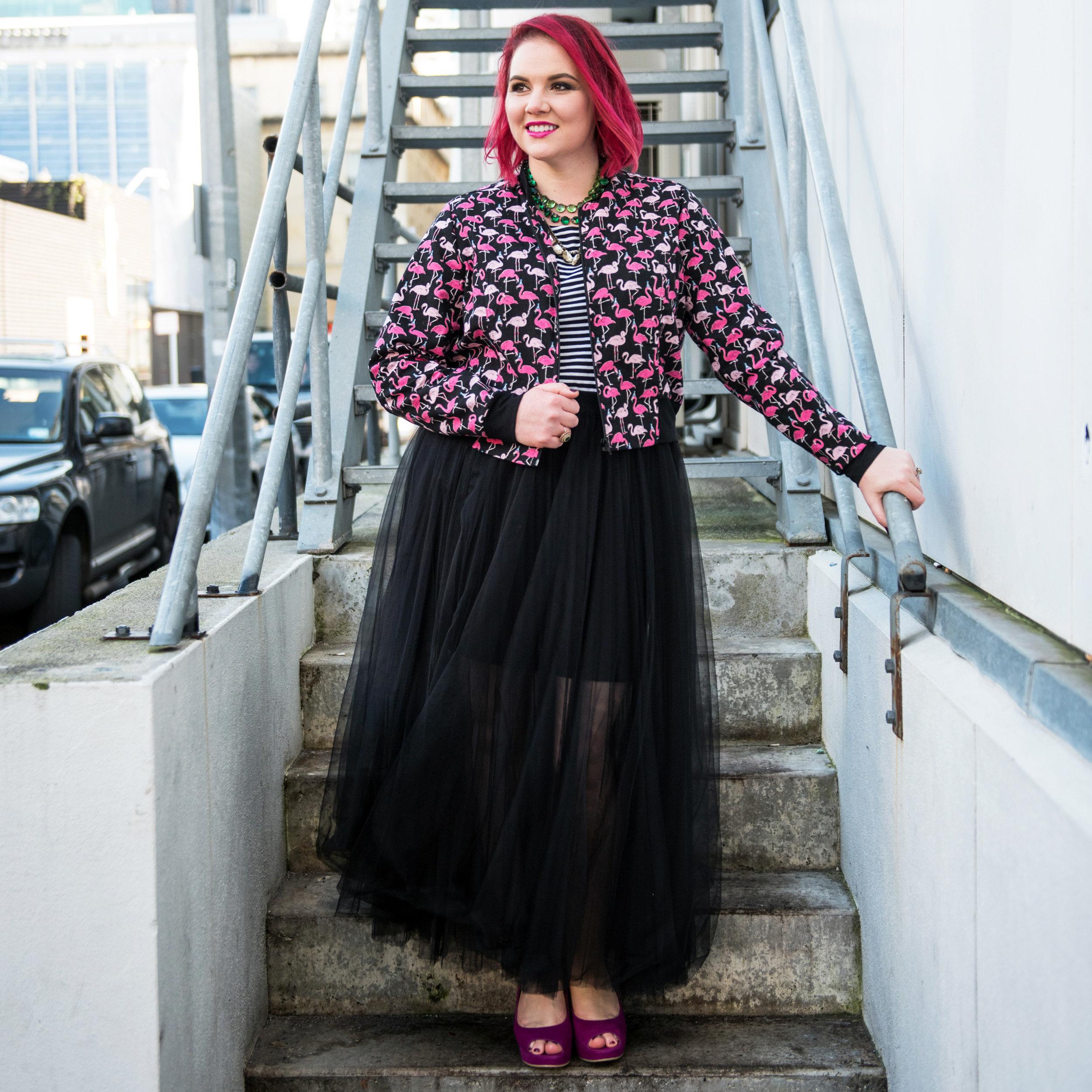 Dressing Room jacket, Trelise Cooper skirt.  Photo by Nykie Grove-Eades.