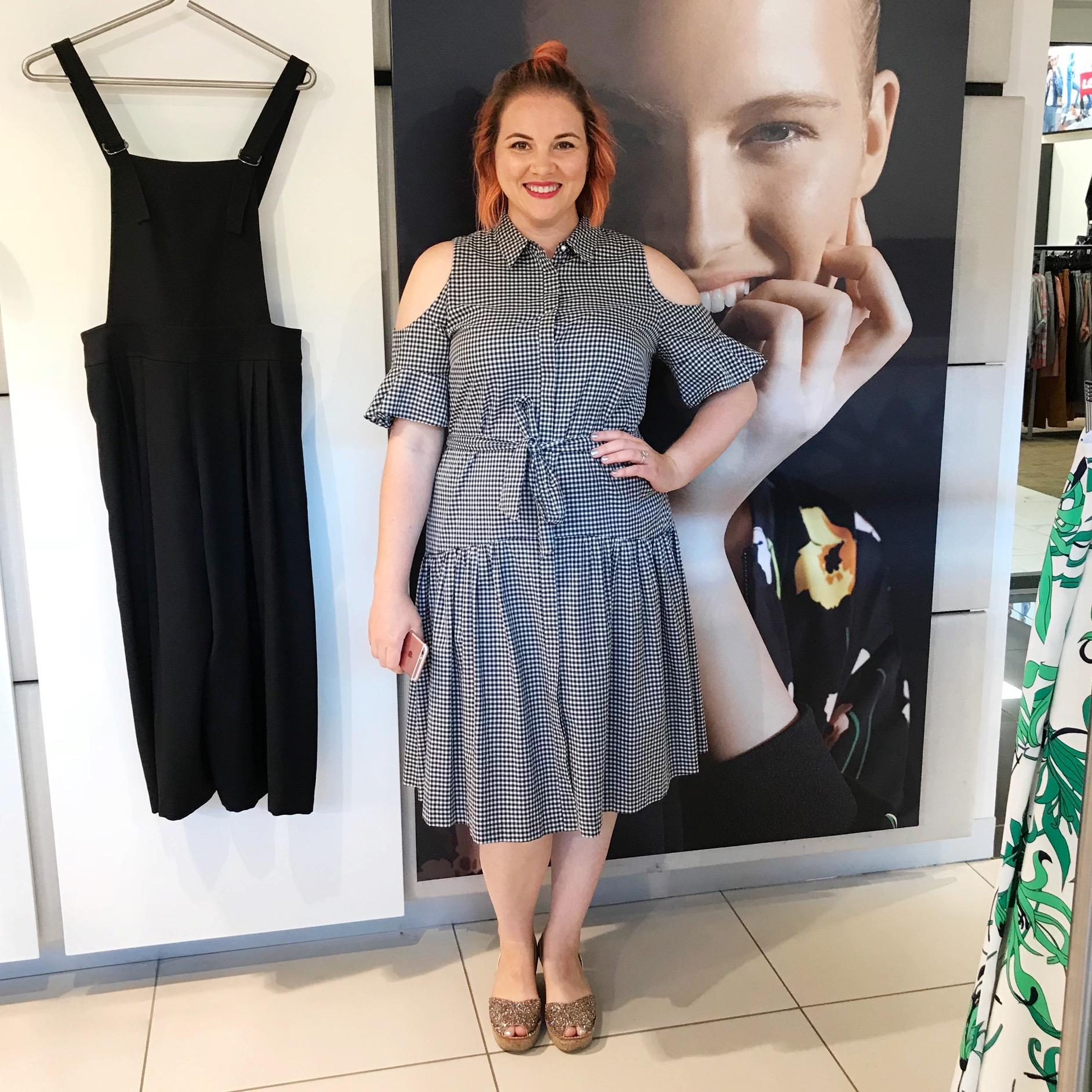 Veronika Maine dress, Lovelee Soles shoes.