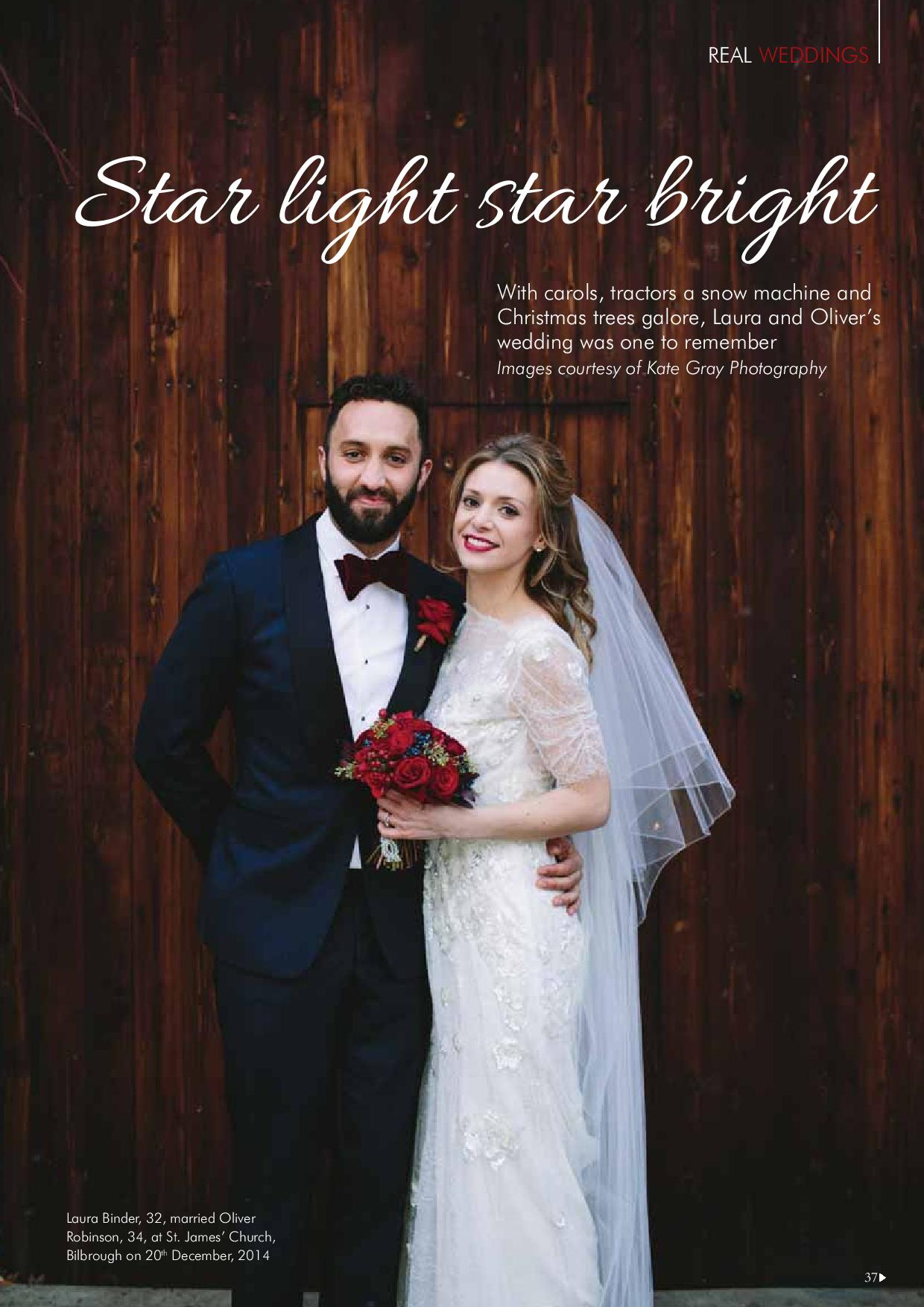 The Normans Weddings in Your Yorkshire Wedding magazine 2.jpg