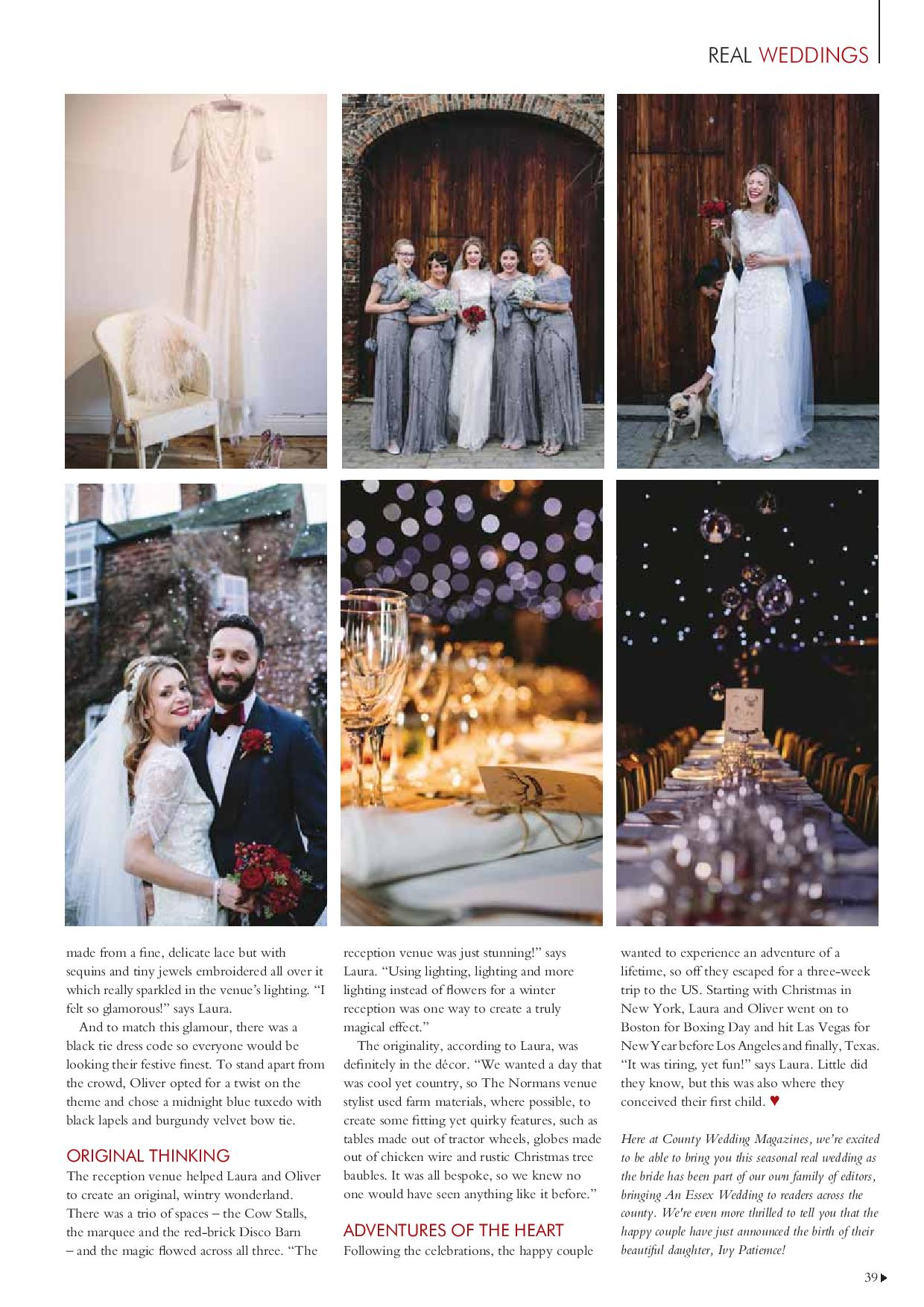The Normans Weddings in Your Yorkshire Wedding magazine 4.jpg